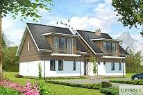 Projekty domów jednorodzinnych - Zobacz projekt - Budynek agroturystyczny Brzoza