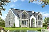 Projekty domów jednorodzinnych - Zobacz projekt - Budynek agroturystyczny Brzoza 2