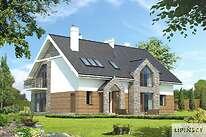 Projekty domów jednorodzinnych - Zobacz projekt - Budynek agroturystyczny Dąb