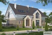 Projekty domów jednorodzinnych - Zobacz projekt - Budynek agroturystyczny Dąb 2