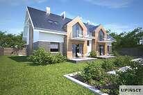 Projekty domów jednorodzinnych - Zobacz projekt - Budynek agroturystyczny Dąb 3