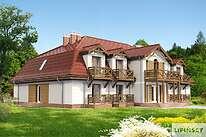 Projekty domów jednorodzinnych - Zobacz projekt - Budynek wypoczynkowy Ambrowiec
