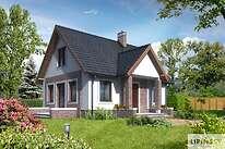 Projekty domów jednorodzinnych - Zobacz projekt - Kaprun II