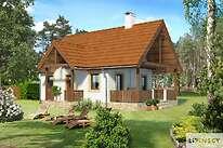 Projekty domów jednorodzinnych - Zobacz projekt - Aurora